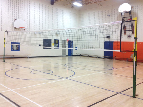 Vollyball nets, poles replacement pieces