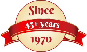 45 +years experience in athletic equipment manufacturing