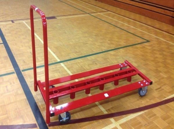 6 post storage cart
