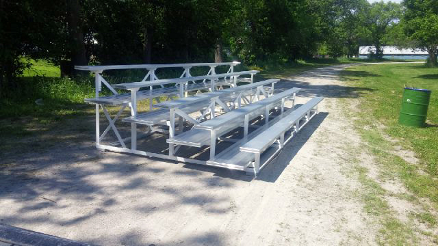 5 Tier Bleachers in Coldwater Ontario